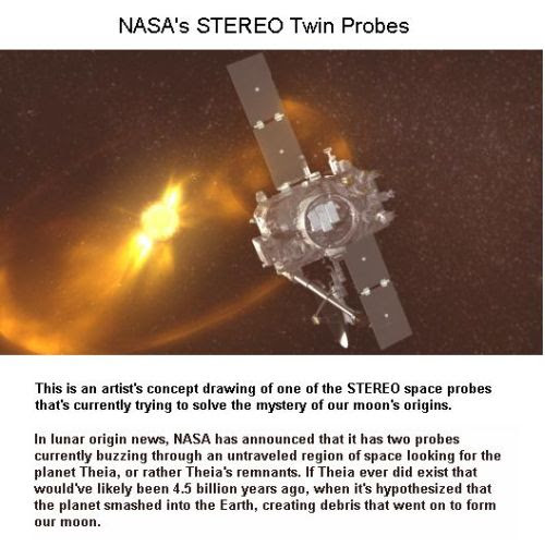 Fig 1E NASA's STEREO Probes