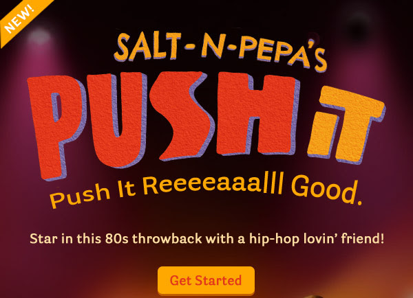 New Video: Salt 'N Pepa's Push It. Push it Reeeaaalll Good.
