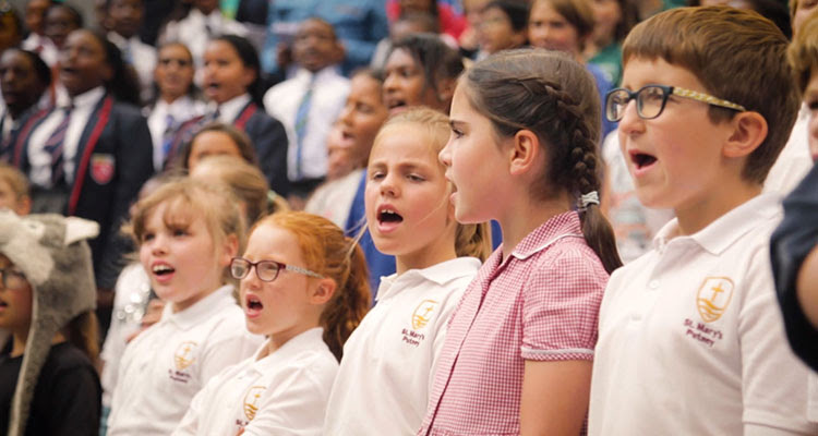 Kid's Choir @ The Scoop, London