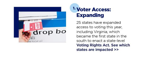1. Voter Access: Expanding
