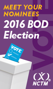 Meet your nominees. 2016 Board of Directors Election.