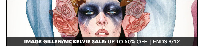 Image McKelvie/Gillen Sale: up to 50% off! | Ends 9/12