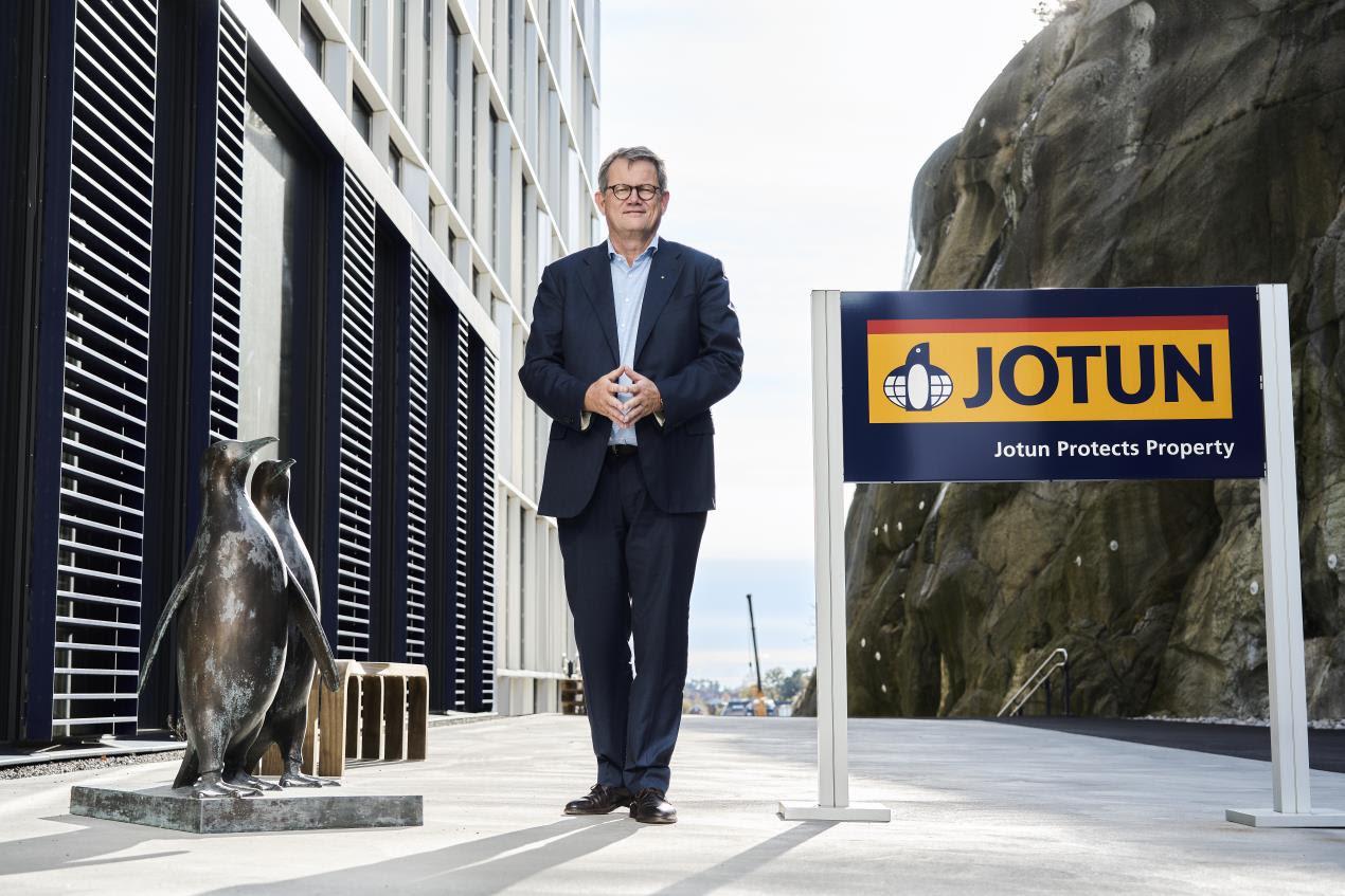 Jotun CEO Morten Fon - leadership through innovation