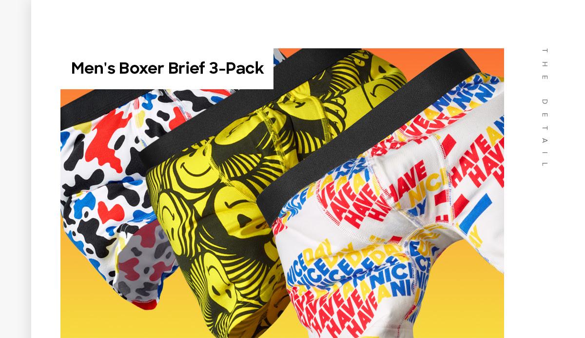 Men's Boxer Brief 3-Pack
