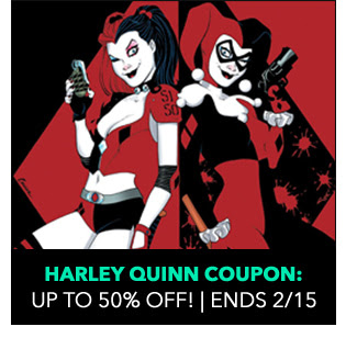 Halrey Quinn Coupon: up to 50% off! Ends 2/15.