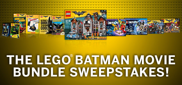 LEGO Batman Movie Bundle Sweeps