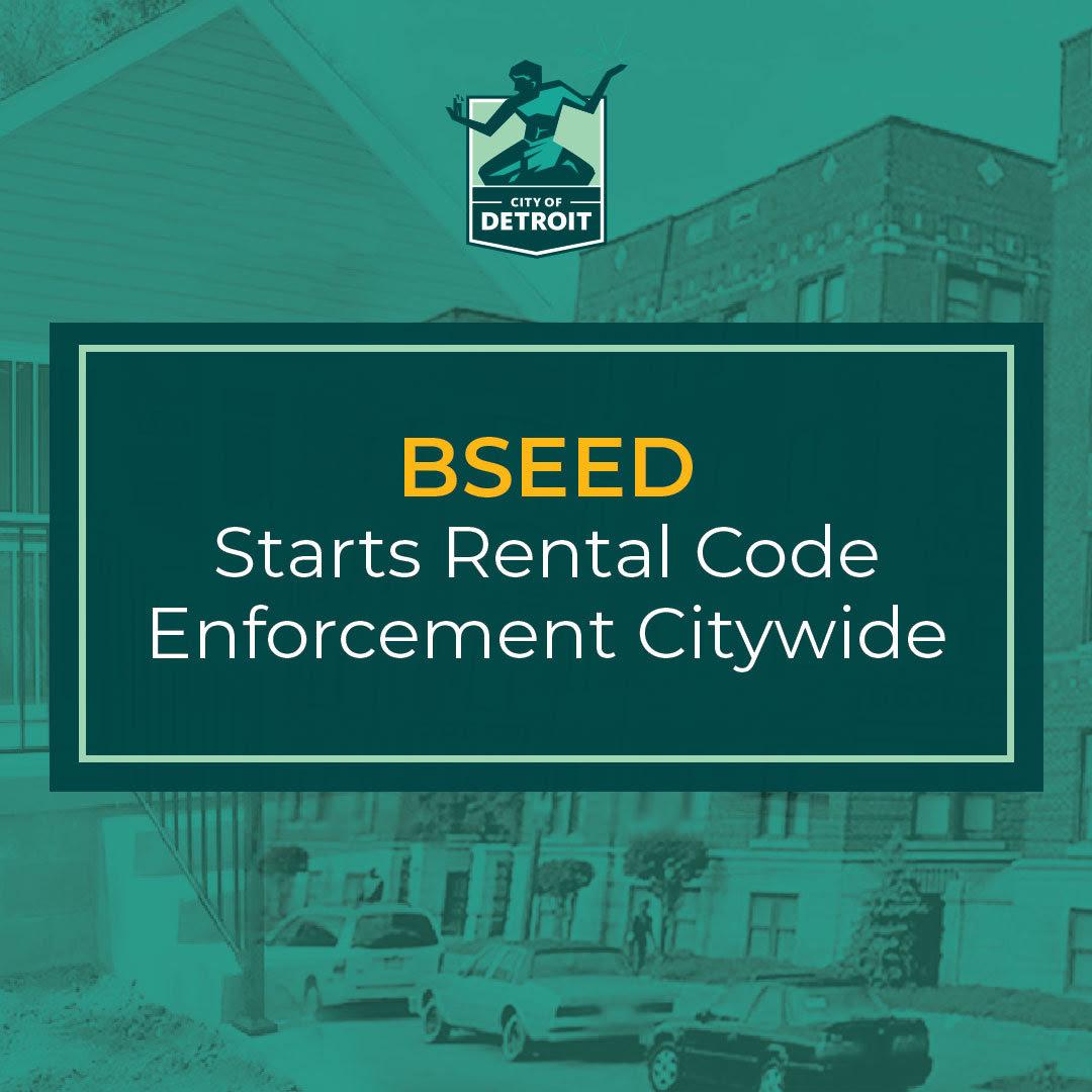 BSEED Restarts Citywide Enforcement