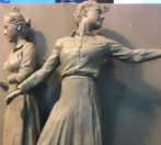 Sculpture women snip