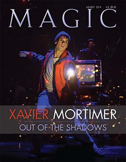 MAGIC Magazine August 2014 Cover
