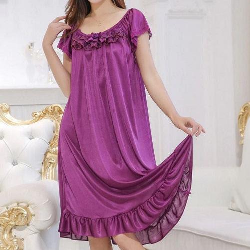 Nightgown Sleepwear (4 Colors) Buy one get two!