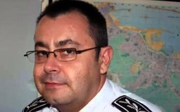 Helric Fredou, 45, the deputy director of the regional judicial police in Limoges