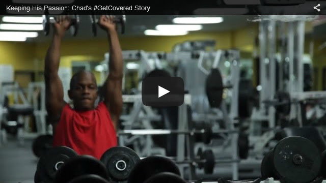 YouTube Embedded Video: Keeping His Passion: Chad's #GetCovered Story