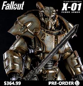 FALLOUT X-01 POWER ARMOR 1/6 SCALE FIGURE