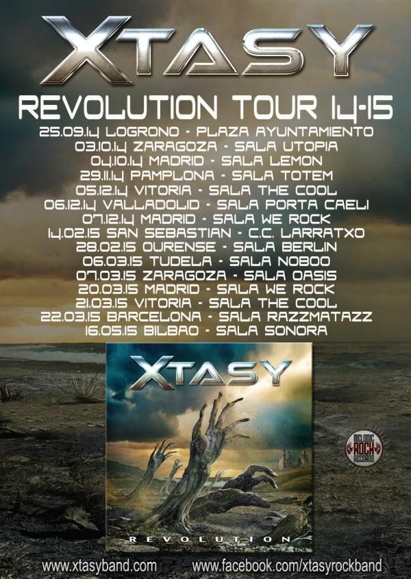 REVOLUTION TOUR 2014-15
