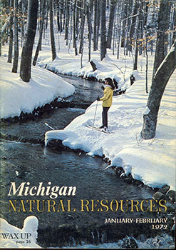 The cover of the March-April 1972 issue of Michigan Natural Resources magazine is shown.