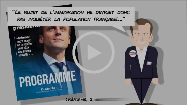 #LeVraiMacron : Quand Macron dévoile (enfin) son programme...