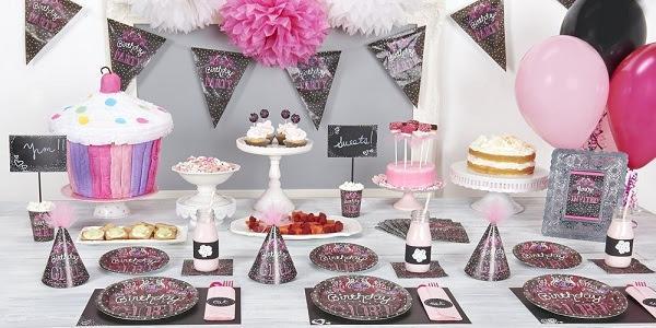 Sweet Chalkboard Party Supplie...