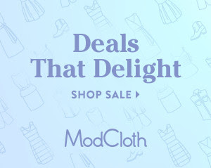 ModCloth Dress Sale!