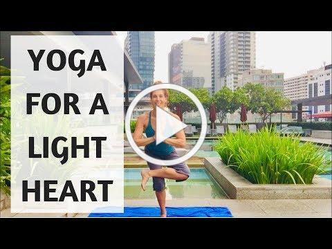 YOGA FOR A LIGHT HEART | YOGA WITH MEDITATION MUTHA