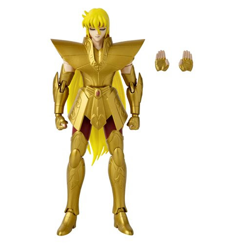 Image of Knights of the Zodiac Anime Heroes Virgo Shaka 6 1/2-Inch Action Figure - OCTOBER 2020