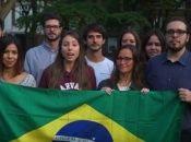 Estudiantes e investigadores brasileños de la Universidad de Harvard, manifiestan su respaldo a Fernando Haddad en Estados Unidos.