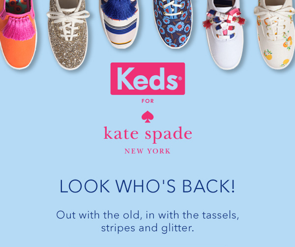 Keds X Kate Spade Spring Colle...