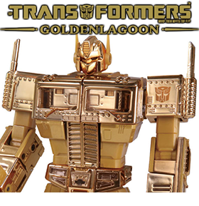 Transformers Masterpiece Golden Lagoon Convoy Exclusive