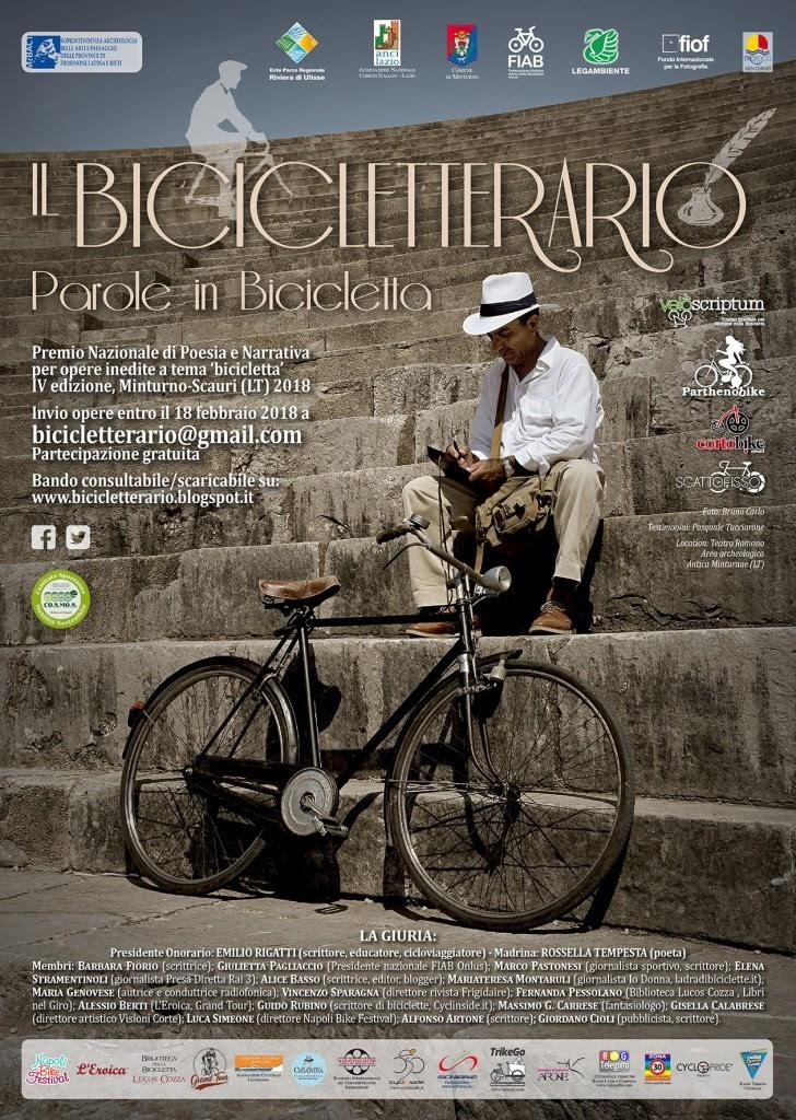 C'è tempo solo fino al 18 febbraio per partecipare allaquarta edizione deIl Bicicletterario – Parole in Bicicletta, l'unico Premio letterario al mondo dedicato alla biciclettain tutti i suoi aspetti.