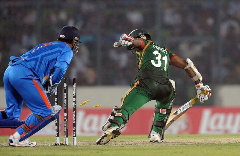 The first match of 2011 ICC World Cup was played at Dhaka in Bangladesh.