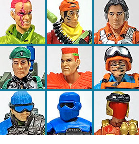G.I. JOE SUBSCRIPTION CLUB FIGURES