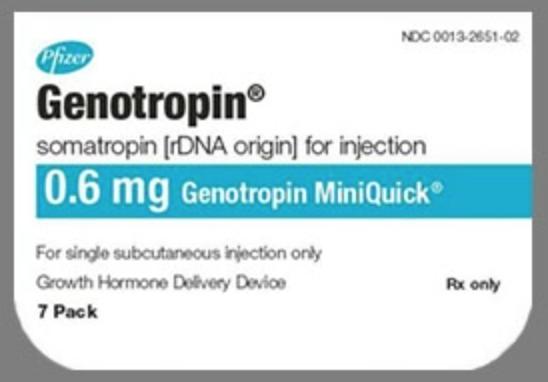 Genotropin brand hGH
