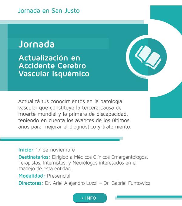 Actualización en Accidente Cerebro Vascular Isquémico - San Justo