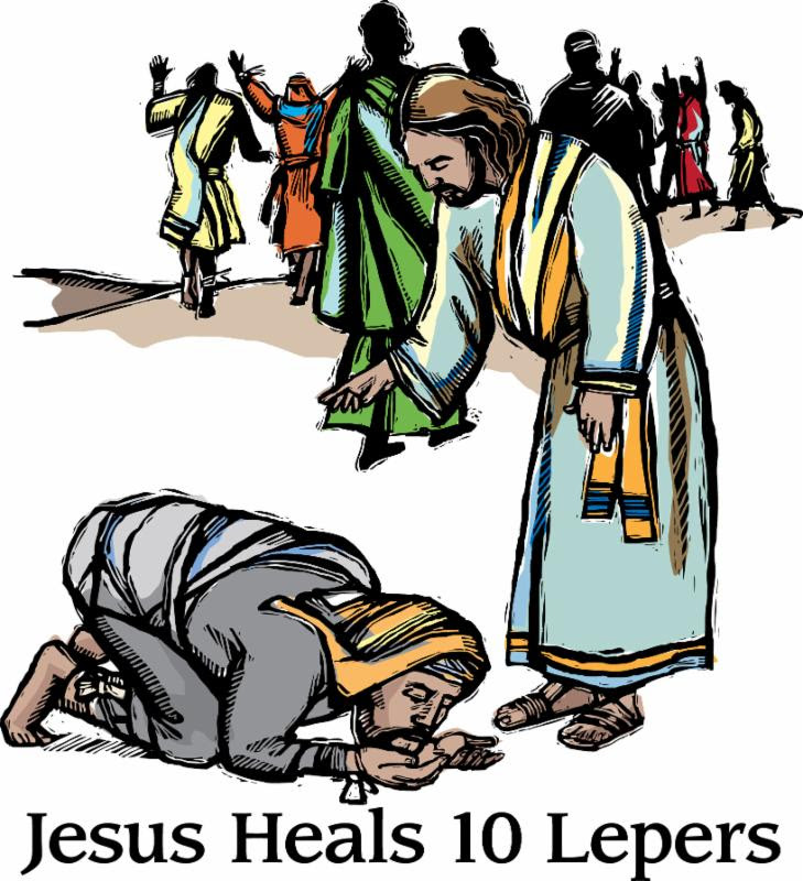 Read Luke 17:11-19