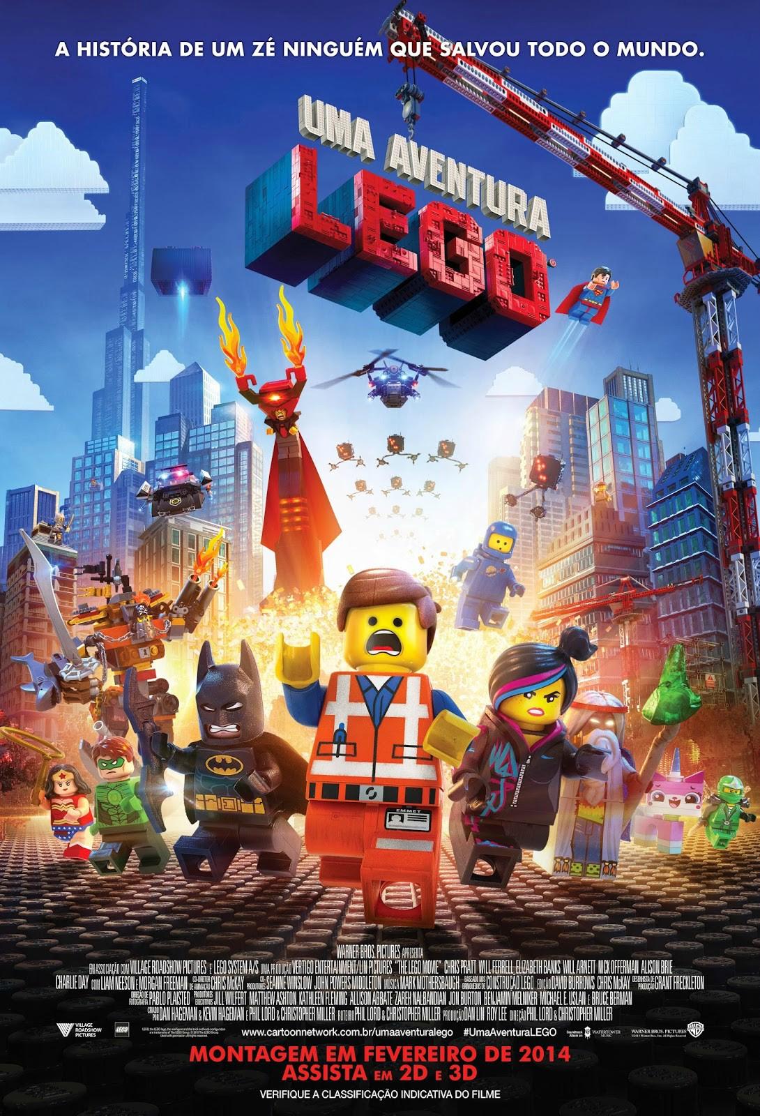 Egg5af6 Uma Aventura Lego Torrent   Dublado (2014)