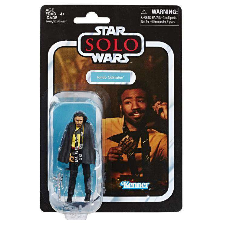 Image of Star Wars: The Vintage Collection Wave 6 - Lando Calrissian (Solo)