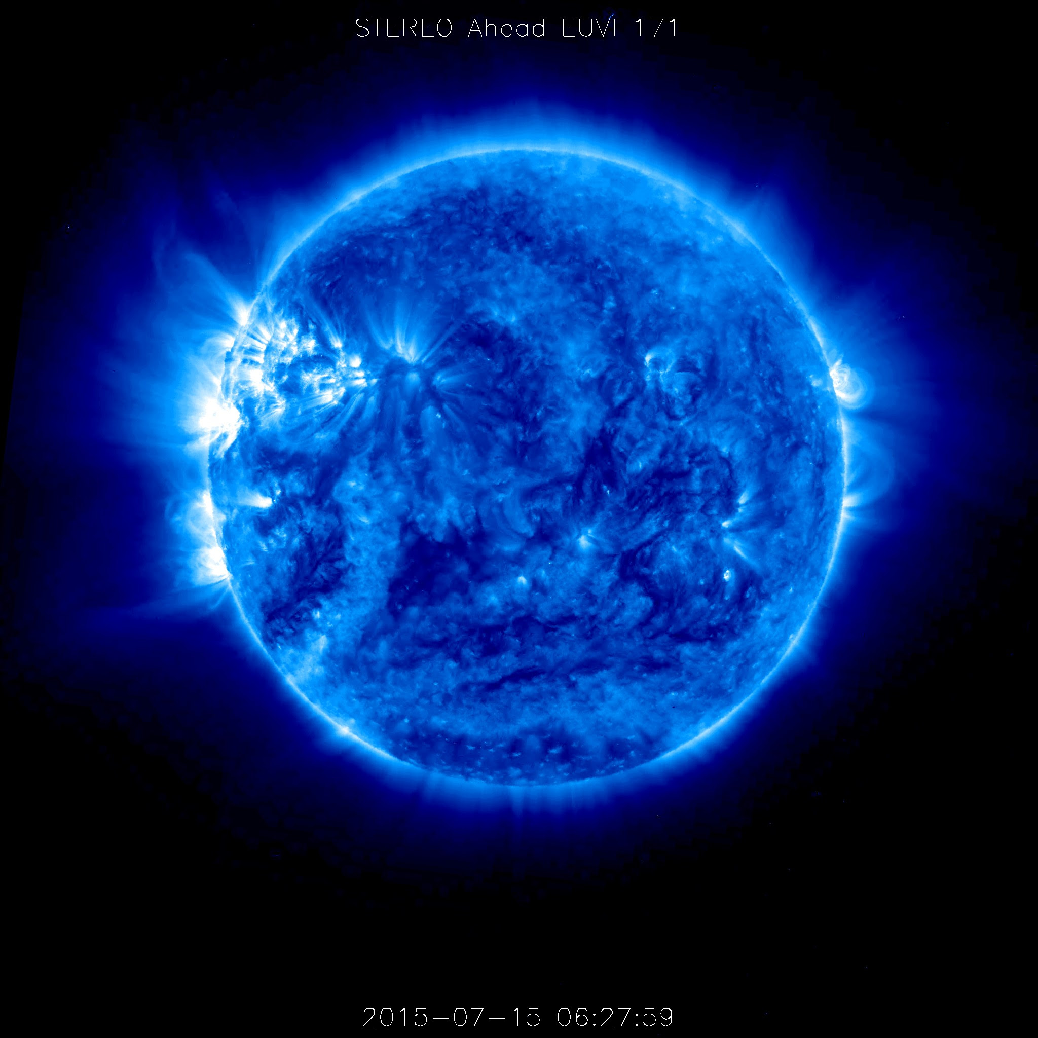 STEREO-A Spacecraft Returns Data From the Far Side of the Sun