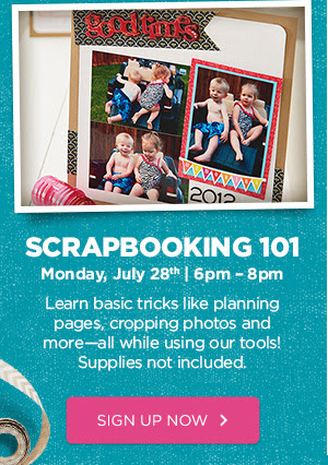 SCRAPBOOKING. Learn More