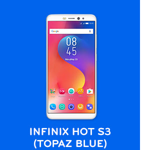 Infinix Hot S3 (Topaz Blue colour)