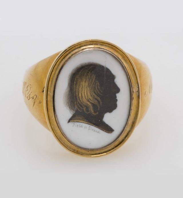 Jeremy Bentham, Van de Weyer Mourning Ring