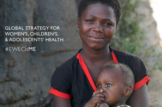 Photo of a mother and child. Global Strategy for Women's, Children's and Adolescent's Health