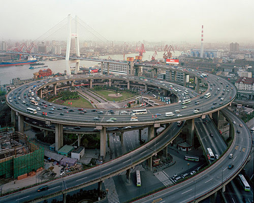BridgeInterchangeChina in Awesome Pictures of Crazy Intersections and Interchanges