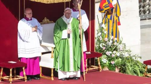 Comienza en Roma el Sínodo de los Obispos con una Misa presidida por el Papa Francisco