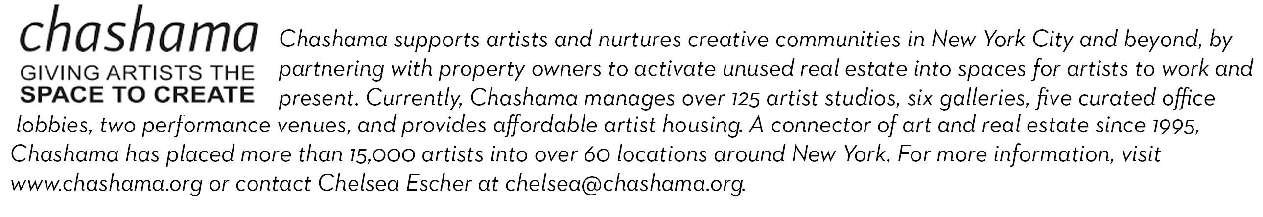 Chashama 4