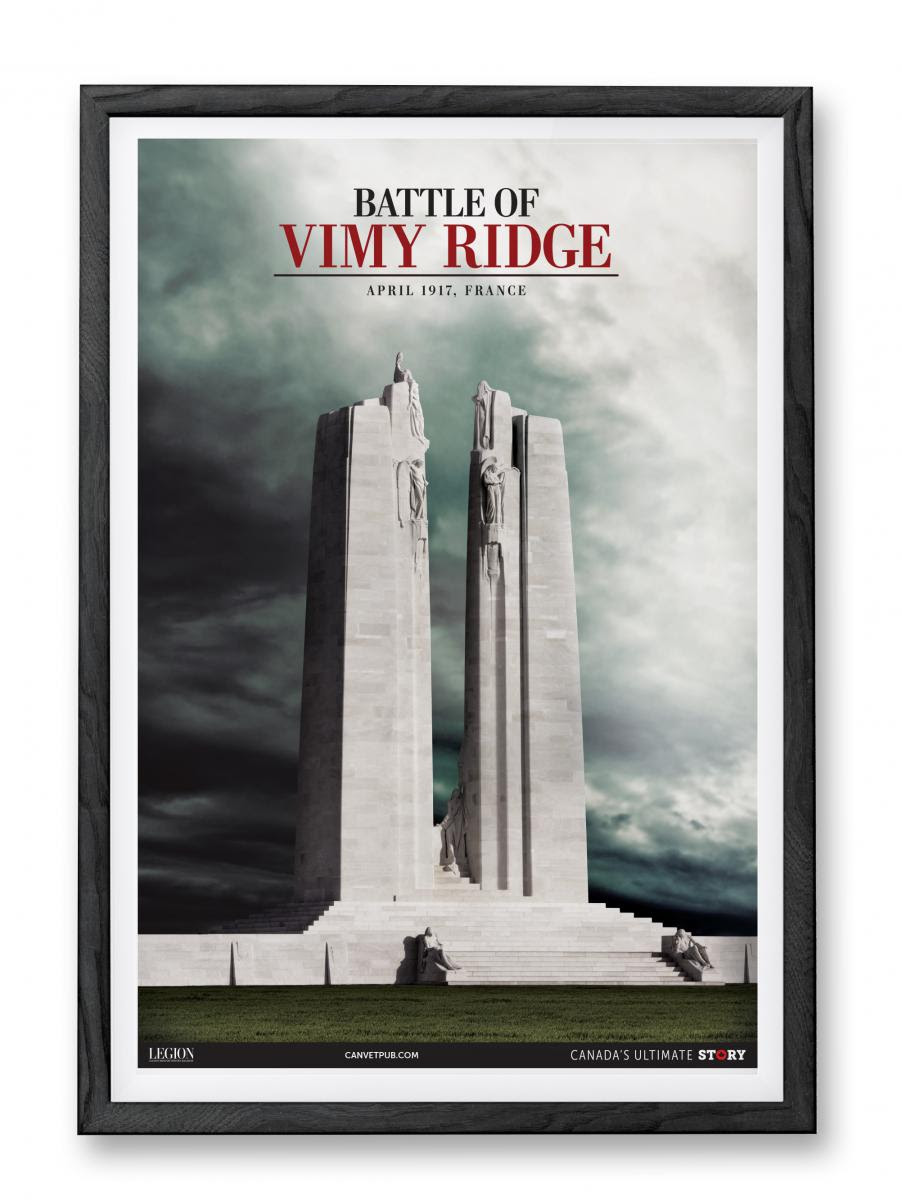Vimy Ridge Memorial!