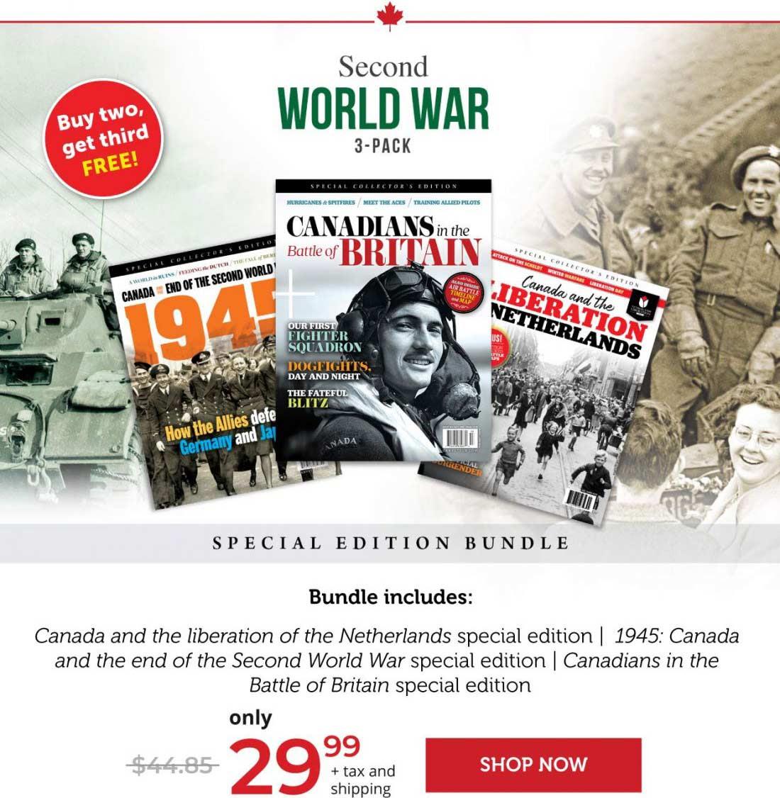 Second World War 3-Pack