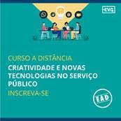 Curso EAD - Criatividade e Novas Tecnologias no Serviço Público