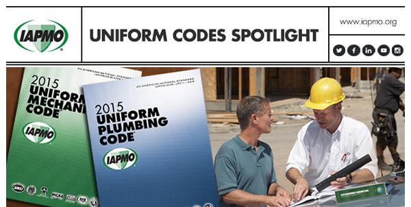 IAPMO Uniform Codes Spotlight