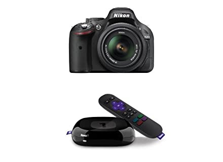 Free Roku 1 Streaming Player with Select Canon and Nikon DSLRs