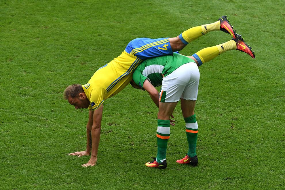 На матче Швеция-Ирландия