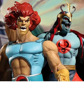 THUNDERCATS MEGA SCALE FIGURES
